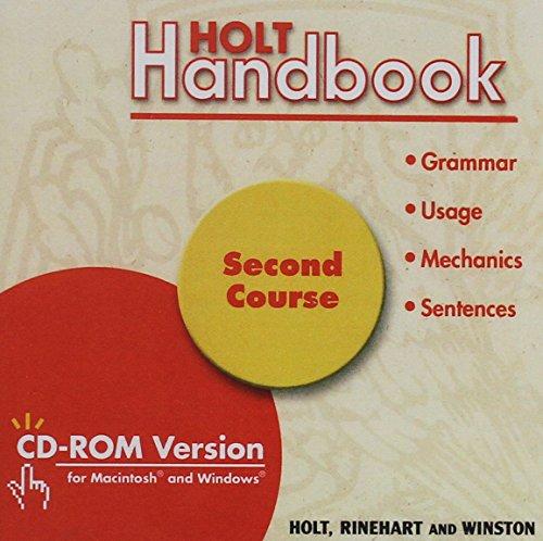 9780030730580: Holt Handbook: CD-ROM Verison Grade 8