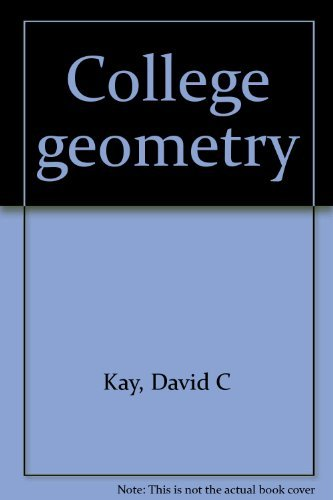 9780030731006: College geometry