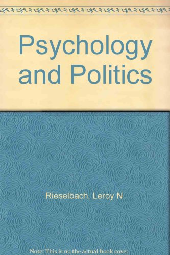 Psychology & Politics : An Introductory Reader