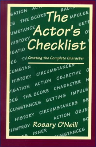 9780030731426: The Actor's Checklist: Creating the Complete Character