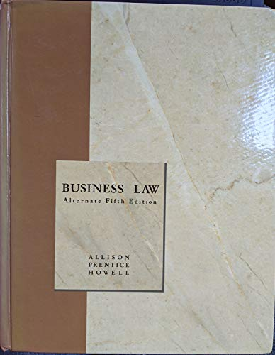 9780030731532: Business Law