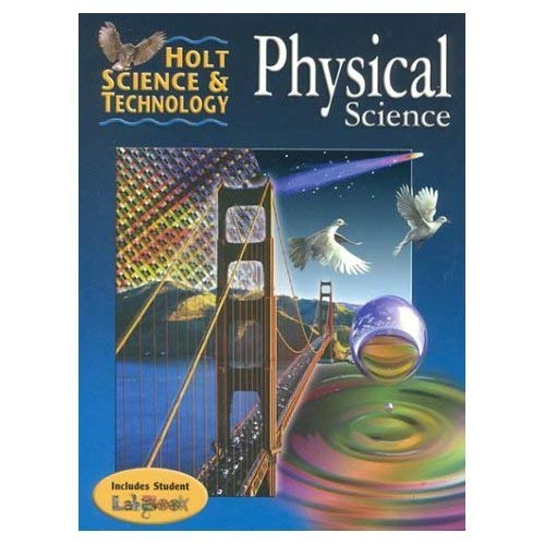 9780030731761: Physical Science, Annotated Teacher's Edition (Holt Science & Technology)