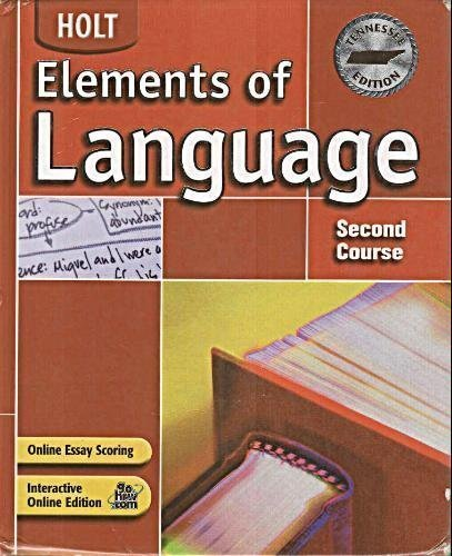 9780030732140: Holt Elements of Language Tennessee: Student Edition Grade 8 2004