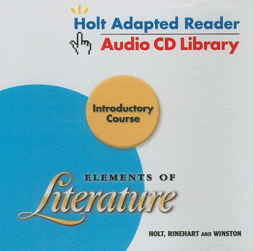 9780030734038: Elements of Literature Introductory Course