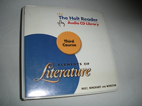9780030734076: Holt Adapted Reader Audio CD Library (Elements of Literature Third Course)