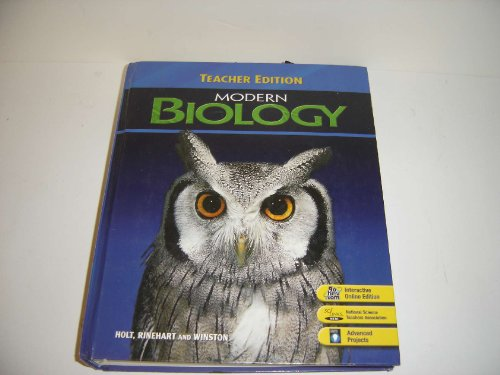 9780030735424: Modern Biology, Teacher's Edition