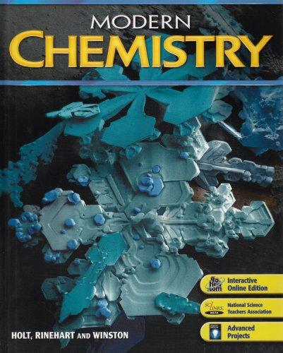 9780030735462: Modern Chemistry