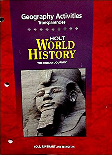 9780030735813: Geography Activities Transparencies, Holt World History (Holt World History, The Human Journey)
