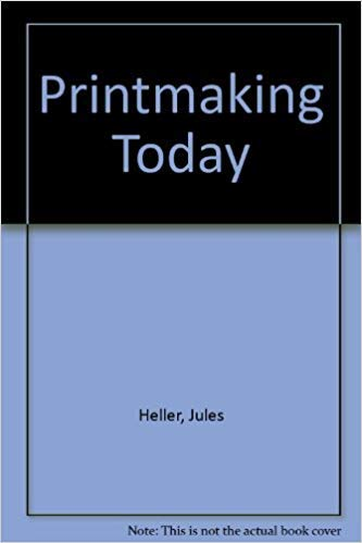 9780030735851: Printmaking Today, A Studio Handbook