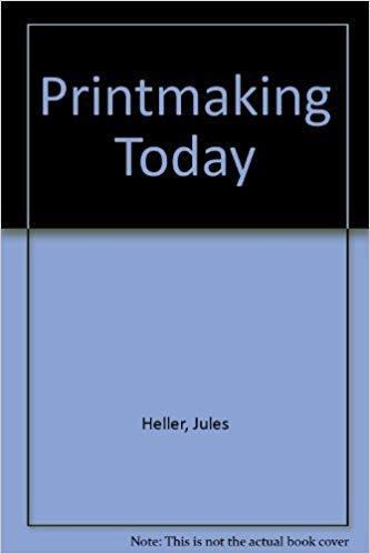 9780030735851: Printmaking Today, A Studio Handbook