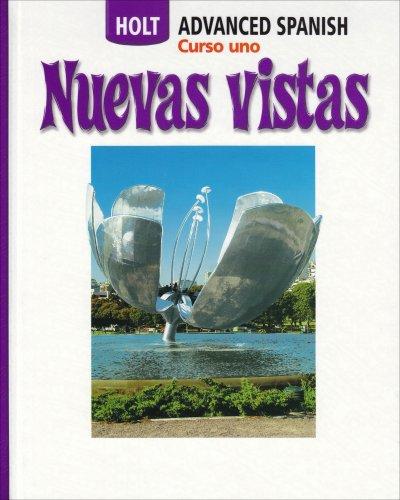 Nuevas vistas, Curso Uno (Course One): HOLT, RINEHART AND WINSTON