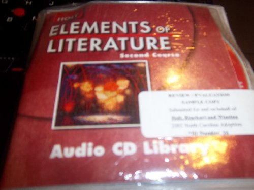 9780030738173: Elements of Literature, 2nd Course, Audio CD Library (HOLT)