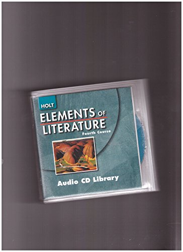 9780030738197: Holt Elements of Literature, Fourth Course (Audio CD Library)