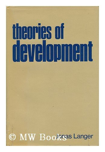 9780030738708: Theories of Development
