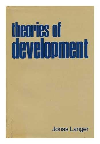 9780030738708: Theories of Development