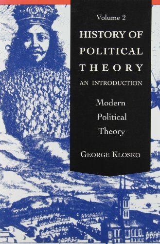 9780030740145: History of Political Theory: An Introduction, Volume 2 (Modern Political Theory)