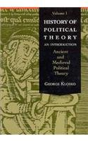 9780030740169: History of Political Theory: An Introduction, Volume 1 (Ancient and Medieval Political Theory)