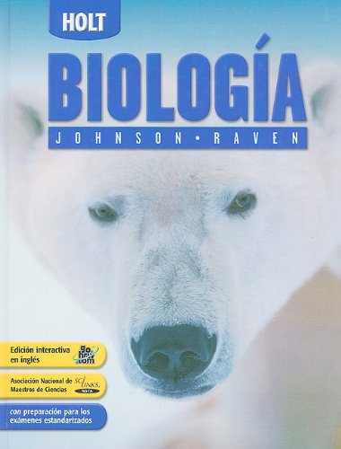 9780030740626: Holt Biology: Student Edition, Spanish 2006