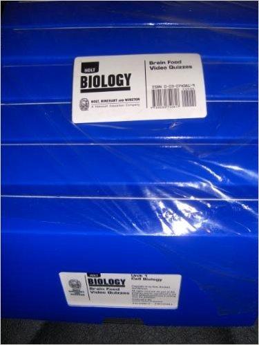 9780030740817: Brain Fd Video Qzs Biology 2004