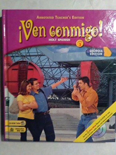 9780030740916: Ga Ate Ven Conmigo! LV 3 2003 (Spanish Edition)