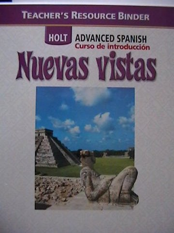 9780030741517: Tchr's Res Bndr Nuevas Vistas 2006 Intro (Spanish Edition)