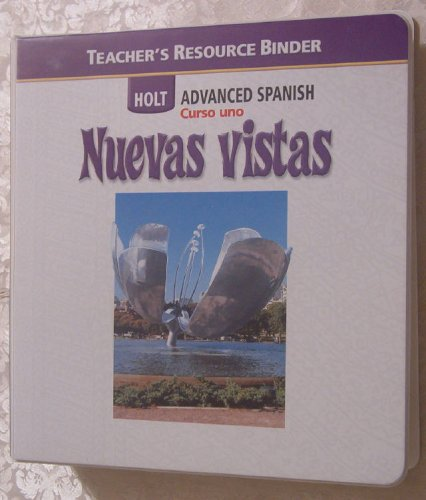 9780030741579: Tchr's Res Bndr Nuevas Vistas 2006 Crs 1 (Spanish Edition