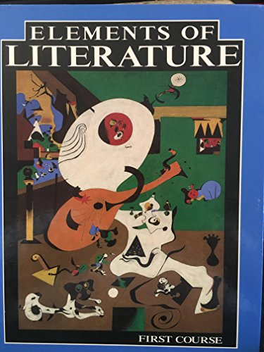 9780030741937: Elements of Literature: First Course
