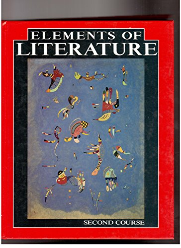 9780030741944: Elements of Literature: 2nd Course
