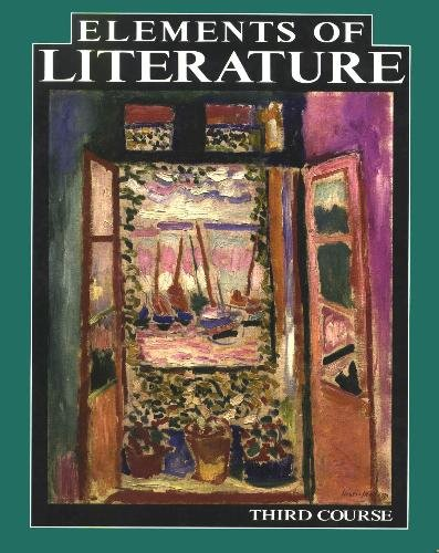 Elements of Literature: Third Course: Robert Anderson, John