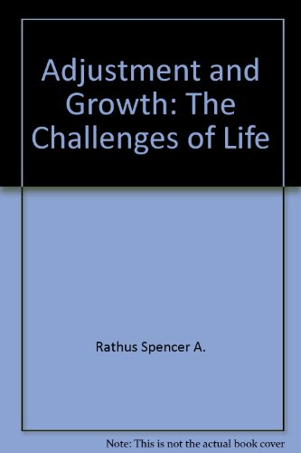 9780030744181: Adjustment and growth: The challenges of life