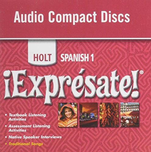 9780030744310: ?Expr?sate!: Audio CD Level 1