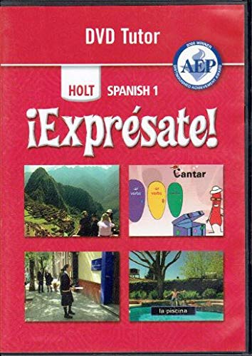 9780030745072: ?Expr?sate!: DVD Tutor Levels 1A/1B/1