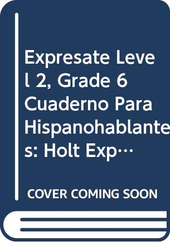 9780030745294: ?Expr?sate!: Cuaderno Spanish Student Edition Level 1