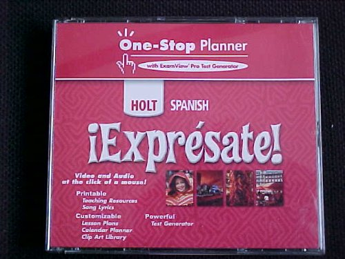 9780030745461: ?Expr?sate!: One-Stop Planner Level 1
