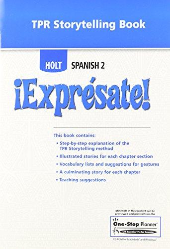 9780030745768: ¡Exprésate!: TPR Storytelling Book Level 2