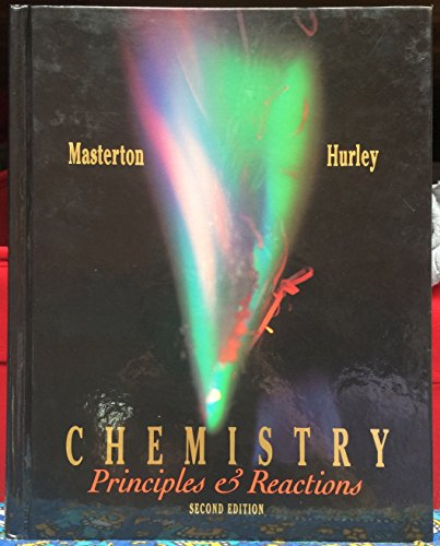 9780030746093: Chemistry: Principles and Reactions (Saunders golden sunburst series)