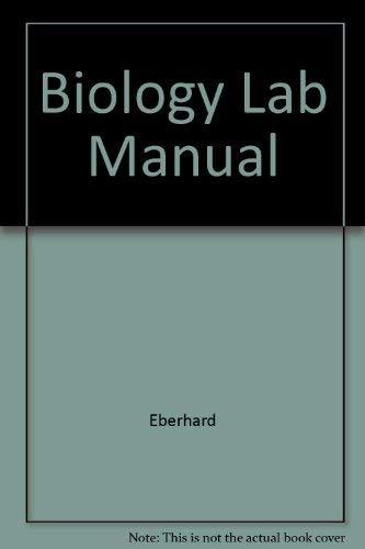 9780030748264: Biology Lab Manual