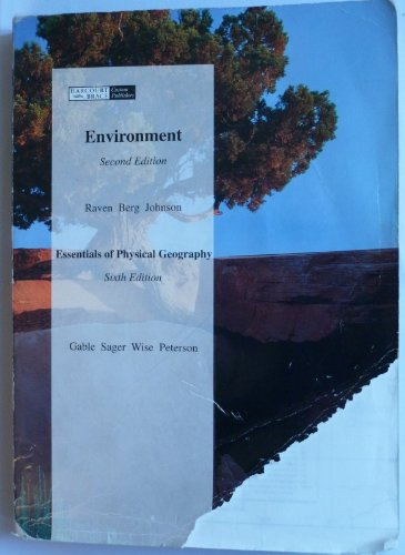 9780030748349: CV Environment, Second Edition, Chapters 1-13, and Essentials of Physical Geography, Sixth Edition, C Hapters 1-21