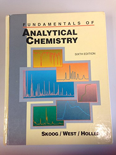 9780030749223: FUNDM OF ANALYT CHEMISTRY 6E (Saunders golden sunburst series)