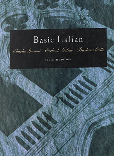 9780030749919: Basic Italian (Book Only)