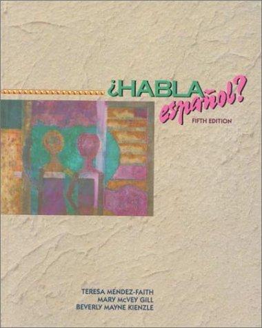 9780030749971: Habla Espanol?: An Introductory Course