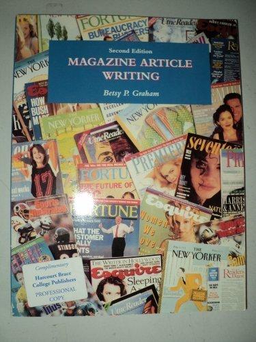 9780030750090: Magazine Article Writing