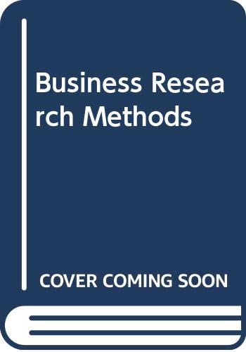 9780030750199: Business Research Methods