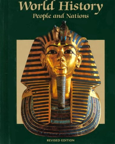 9780030751974: World History People and Nations 1993