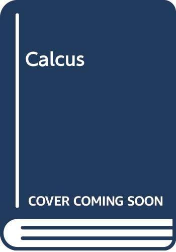 9780030752193: Contemporary Calculus II Concepts, Applications & Techniques