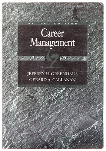 9780030753435: Career Management