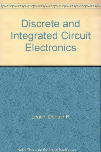 9780030753879: Discrete and Integrated Circuit Electronics
