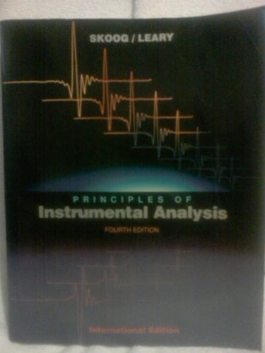 9780030753985: Principles of Instrumental Analysis