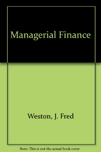 9780030753992: Managerial Finance