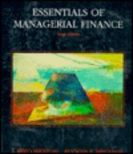 9780030754746: Essentials of Managerial Finance (Dryden Press Series in Finance)